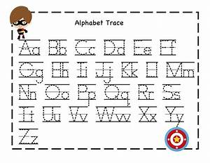tracing alphabet abc kiddo shelter alphabet and With abc learning letters