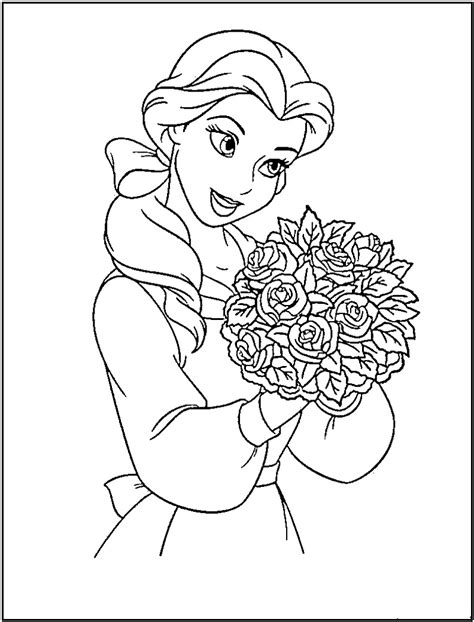 Coloring Princess by Princess Coloring Pages 1 Coloring