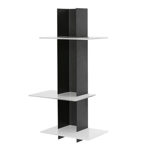 librerie a colonna libreria a muro elib3 a colonna colore nero e bianco