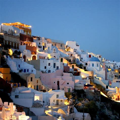 Travel Santorini City Beautiful Destination In Greece