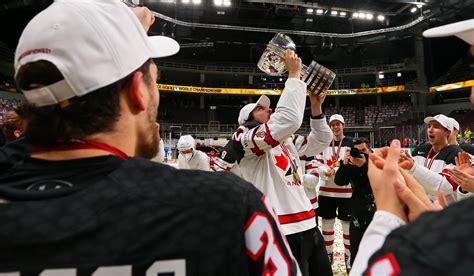 Kanāda parāda hokeja dzimtenes raksturu - pasaules čempionāta zelts - Hokeja Blogs