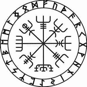 Compas De Vegvisir : vegvisir el comp s m gico de la navegaci n del island s ~ Melissatoandfro.com Idées de Décoration