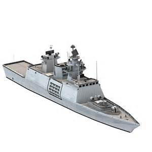 US Navy Frigate Model Ship