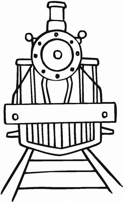 Train Drawing Coloring Trains Angle Clipart Steam