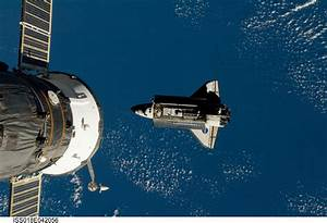Space Shuttle Docking with ISS - Pics about space