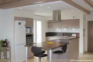 Cuisine americaine avec bar la cuisine ouverte avec un for Plan de maison design 13 home 187 la ferme des sources