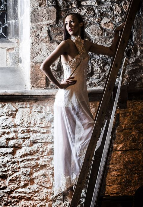 corset  cover sarah elizabeth model harri cheal