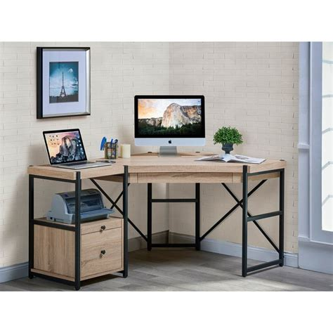 industrial style computer desk office amazing industrial corner desk industrial modern