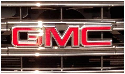gmc logo meaning  history gmc symbol