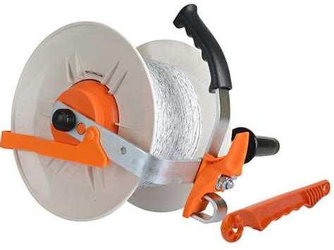 geared reel pvc handle gallagher reels and accessories