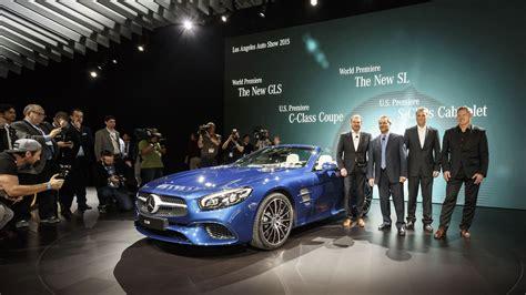Mercedes-benz Los Angeles Auto Show 2015