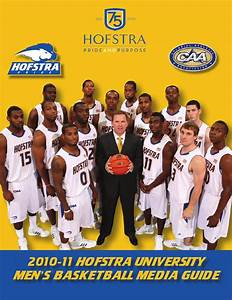 2010-11 Hofstra Men's Basketball Media Guide by Hofstra ...