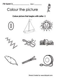 alphabet  worksheets coloring activity sheets printable