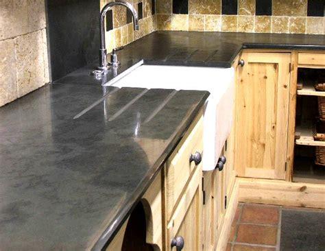 plan de travail cuisine ardoise ardoise pour plan de travail de cuisine et salle de bain