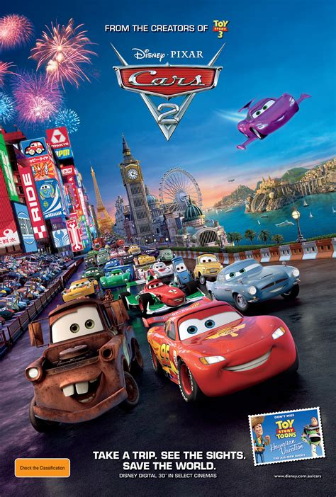cars 2 autos cars 2 poster the reel bits