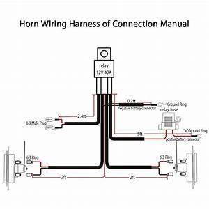 Automotive Relay 12v 40a Wiring Diagram