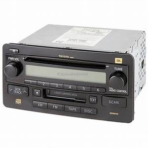2004 Toyota Tundra Radio Or Cd Player Parts From Car Parts