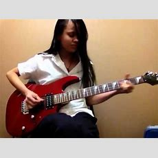 Girl Playing Electric Guitar Youtube