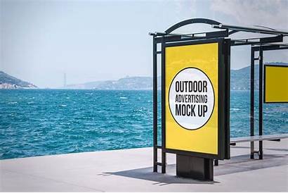 Outdoor Advertising Psd Mockup Mockups