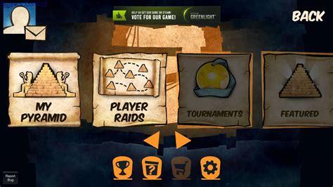 pyramid raid gameplay gogetasuperx youtube