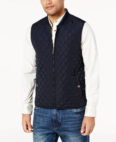 quilted vest mens s quilted vest created for macy s coats