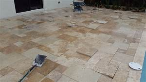 How To Install Travertine Pavers On Sand