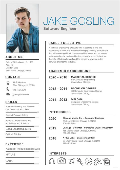 Free Professional Resume Maker by Free Simple Fresher Resume Word Doc