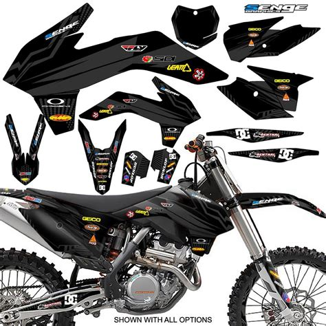 kit deco 125 sx 2005 2006 ktm sx 125 250 450 525 graphics kit deco decals moto stickers ebay