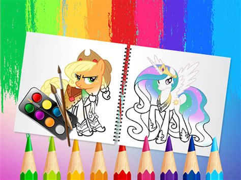 sweet pony coloring book play sweet pony coloring book game