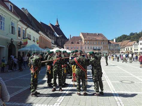 Intrarea României în Primul Război Mondial Este Marcată La Braşov (galerie Foto
