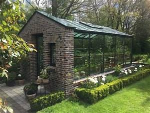 Anlehngewachshaus anbauorangerie deko pinterest for Garten planen mit balkon treibhaus