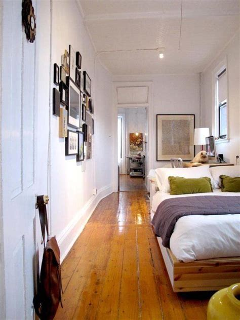 long narrow bedroom ideas  pinterest