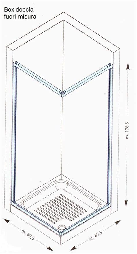 cabine doccia misure box doccia su misura