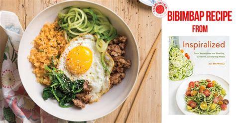 bibimbap recipe bibimbap recipe from inspiralized steamy kitchen