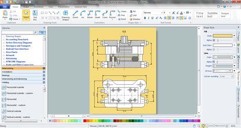 sketch design software mechanical drawing software