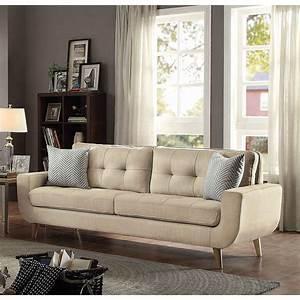 modern, beige, fabric, upholstered, mid