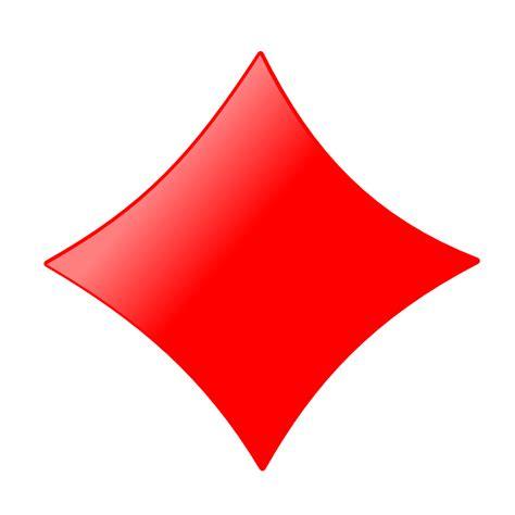 onlinelabels clip art card symbols diamond