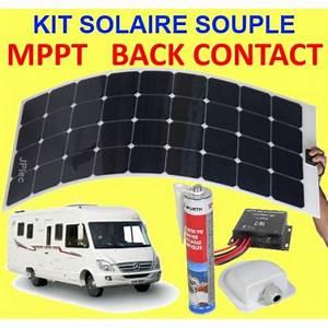 Panneau Solaire 100w : kit solaire souple back contact et mppt 200w pour camping car ~ Nature-et-papiers.com Idées de Décoration