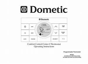 Dometic 3312026 Series Operating Instructions Manual Pdf