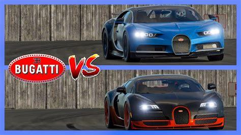 Bugatti Chiron Vs Veyron Super Sport