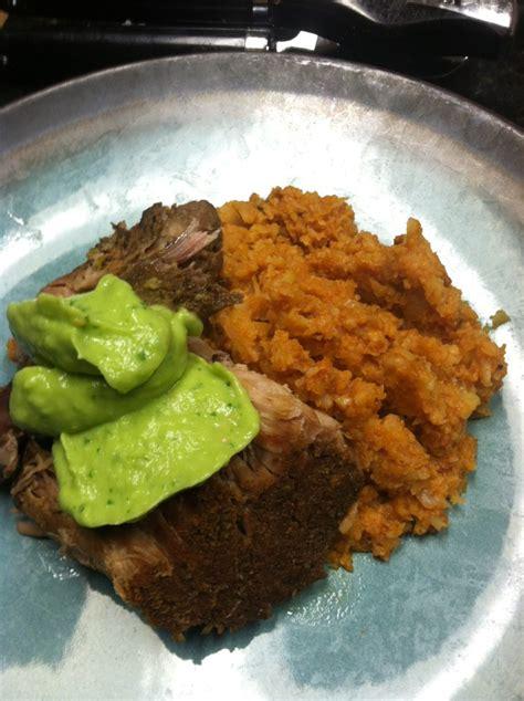 paleo crock pot pork shoulder pernil carnitas style our
