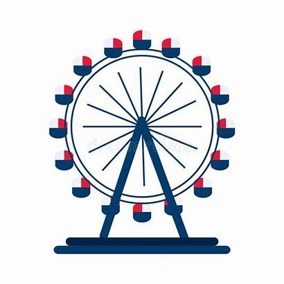 Eye London Wheel Illustration Vector Graphic Clipart