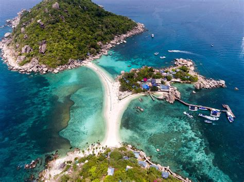 Thailand Air Photos Of Koh Nang Yuan