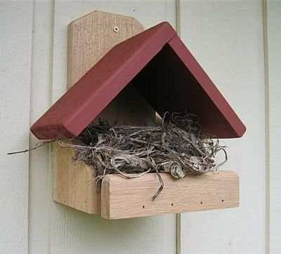 robin houses robin roosting boxes robin nesting boxes robin nesting platforms  songbird garden
