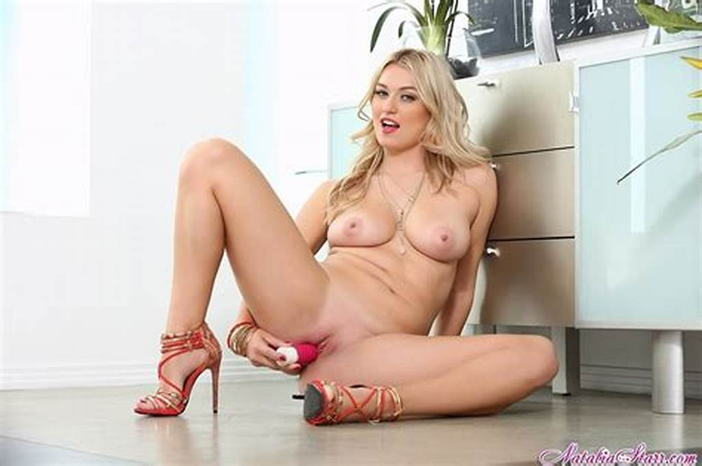#Natalia #Starr #Fucking #Her #Pussy #With #Her #Fingers #And #Dildo