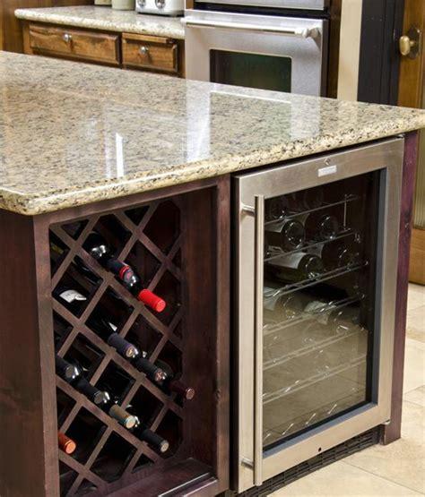 modern ideas  wine storage   kitchen