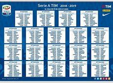 Sorteggio Serie A 2018 2019 il calendario in diretta