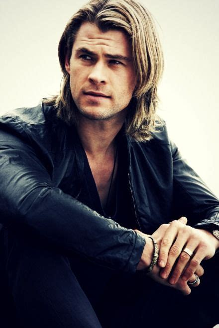 fabulous medium  long hairstyles  men