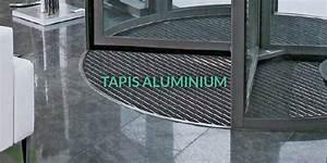 tapis aluminium pour entreprises magasins et erp With tapis brosse aluminium