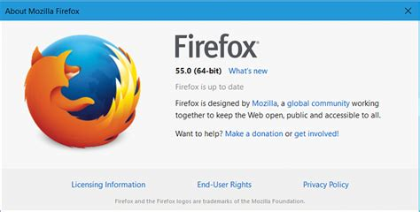latest firefox released for windows page 55 windows 10